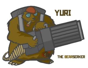 yuri the bearserker colored