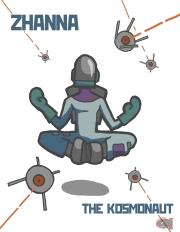 zhanna the kosmonaut