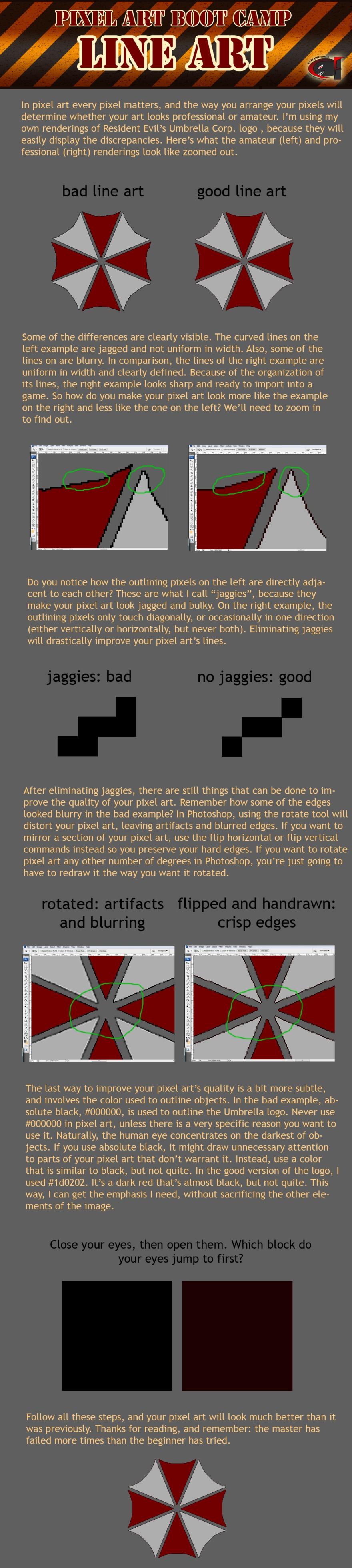 perfecting your pixel art